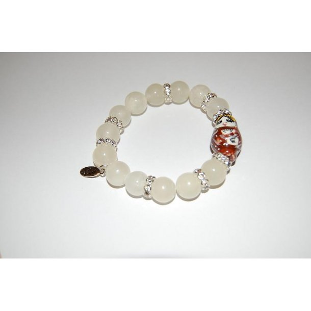 BABUSHKA NYHED armbånd - bright onyx